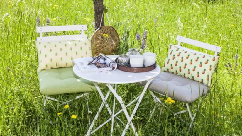 Garten & Outdoor-Bereich mit Sitzecke