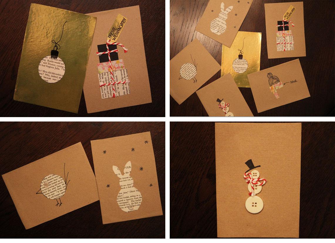 DDIY:Weihnachtskarten vom Lady Blog