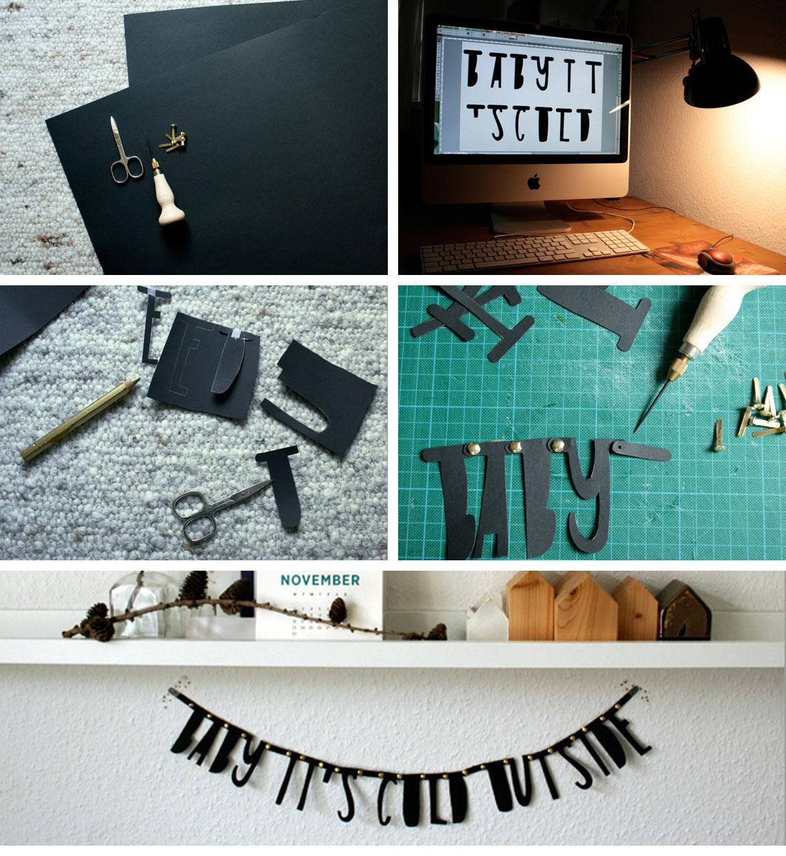 Aleitung für DIY Girlande