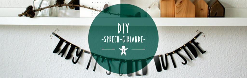 Header DIY Sprech-Girlande