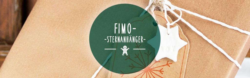 DIY Fimo-Sternanhänger