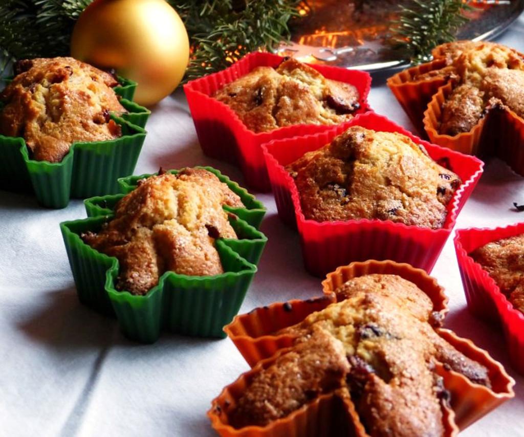 Rezept für Weihnachtsmuffins von magenratzerl.net