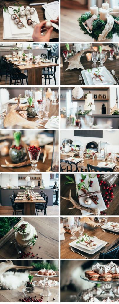 Bilder weihnachtliche Tischdeko von Pretty Planery