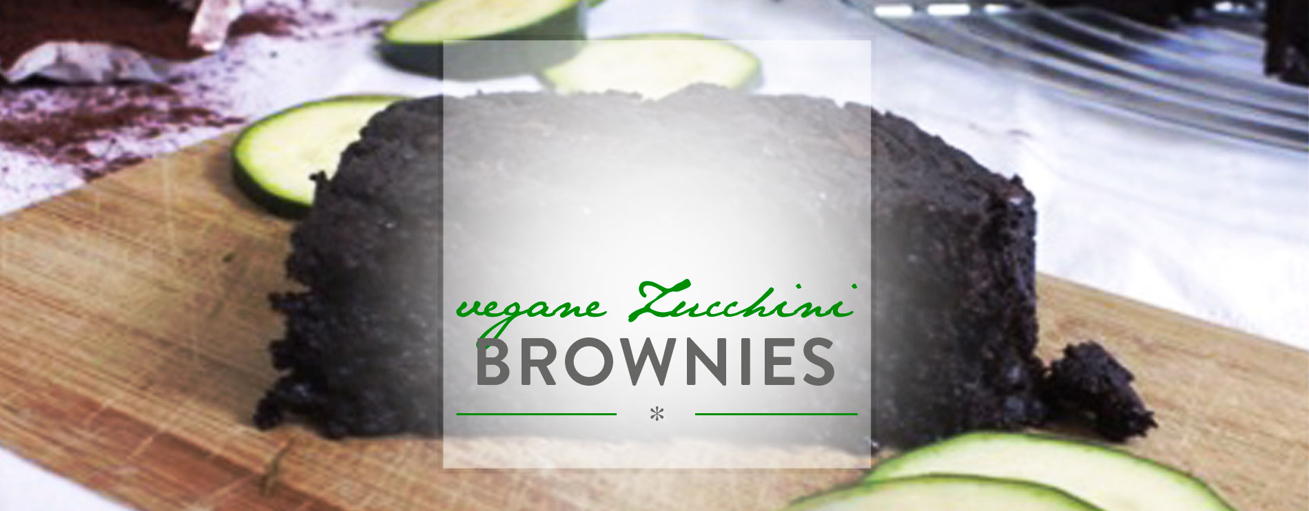 Header Vegane Zucchini Brownies