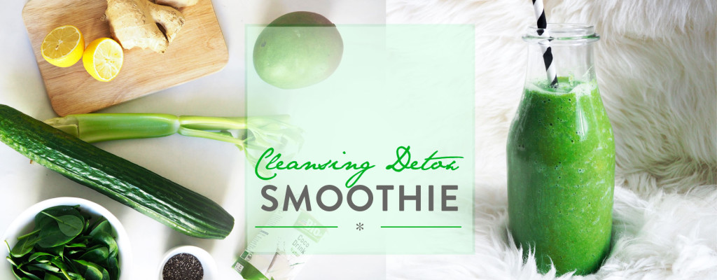 Header Cleansing Detox Smoothie