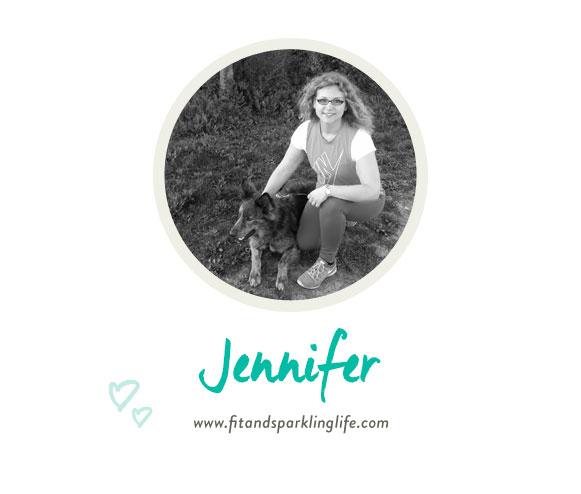 Portrait von Jennifer von fitandsparklinglife.com