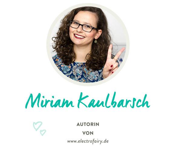 Miriam von electrofairy.com