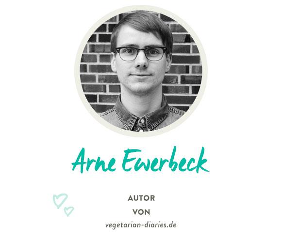 Arne von www.vegetarian-diaries.de