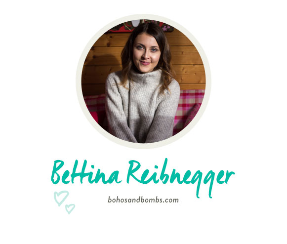 Portrait von Bettina Reibnegger von bohoandbombs.com
