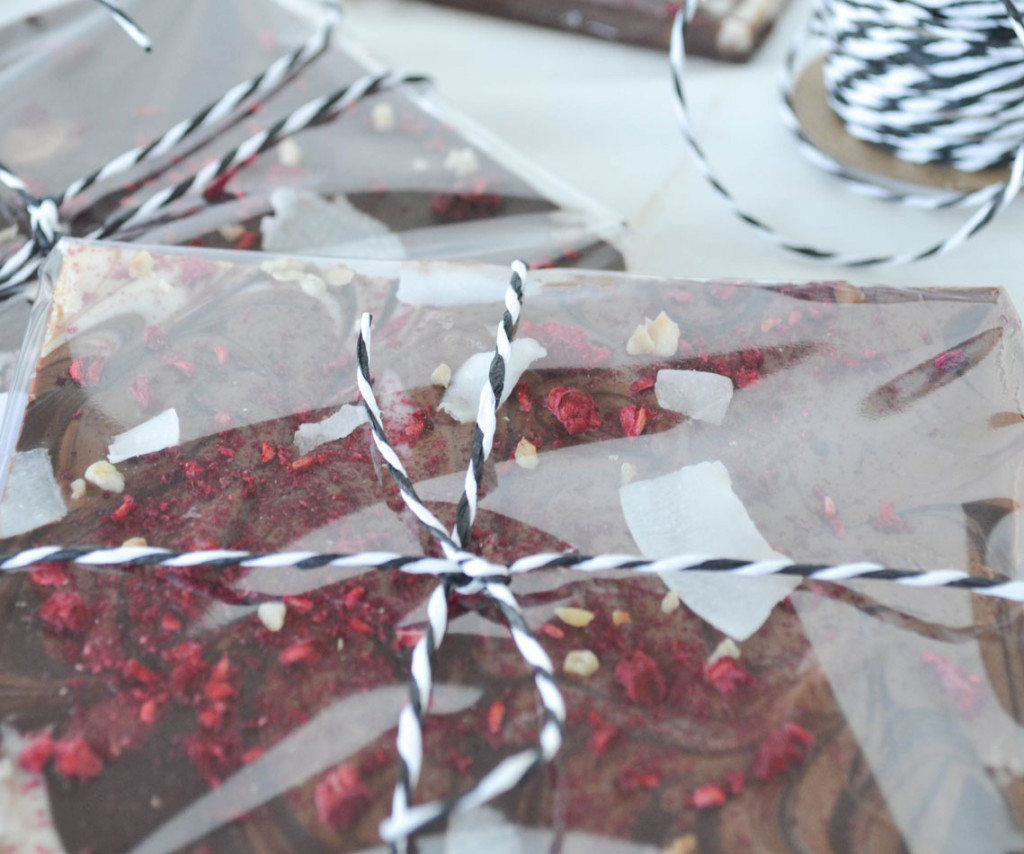 Rezept für Bunte Schokolade
