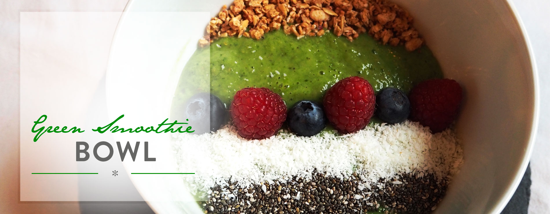 Header Green Superfood Smoothie