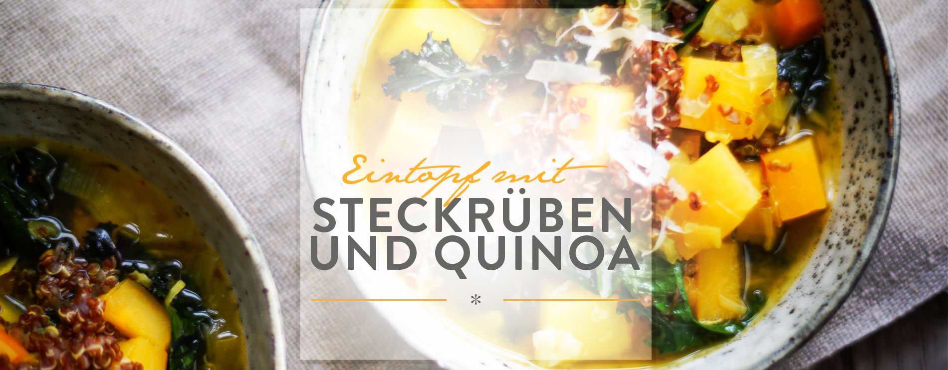 Header Eintopf mit Steckrüben und Quinoa