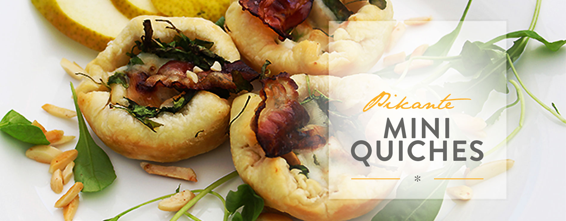 Header Pikante Mini Quiches