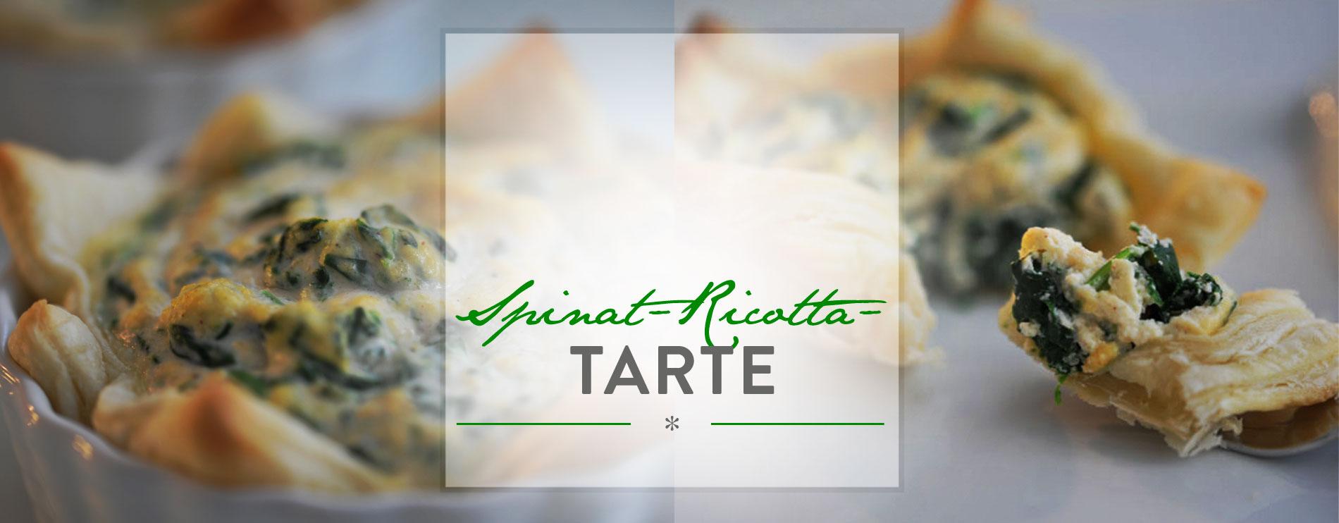 Header Spinat-Ricotta-Tarte