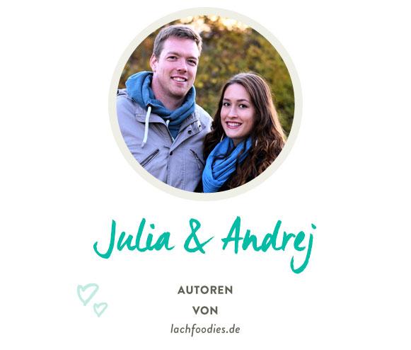 Julia & Andrej von lachfoodies.de