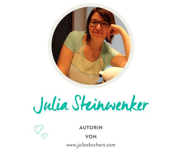 Julia Steinwenker von www.julieskochart.com
