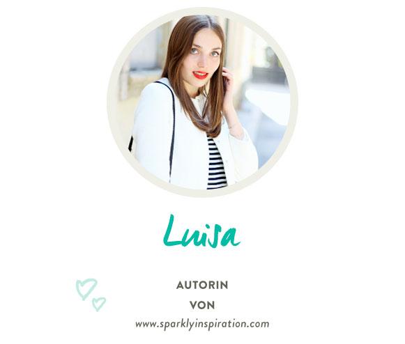 Luisa von www.sparklyinspiration.com