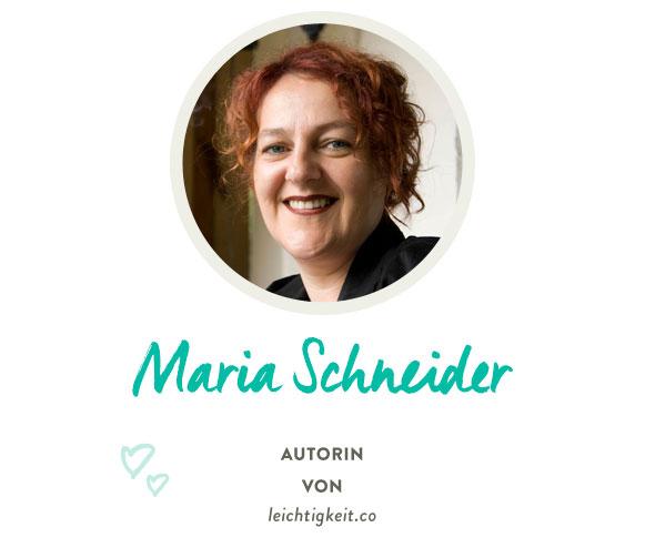 Maria Schneider von Leichtigkeit.co