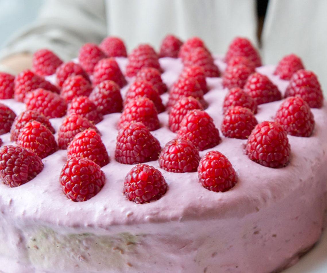 Rezept für Himbeer-Schoko-Torte