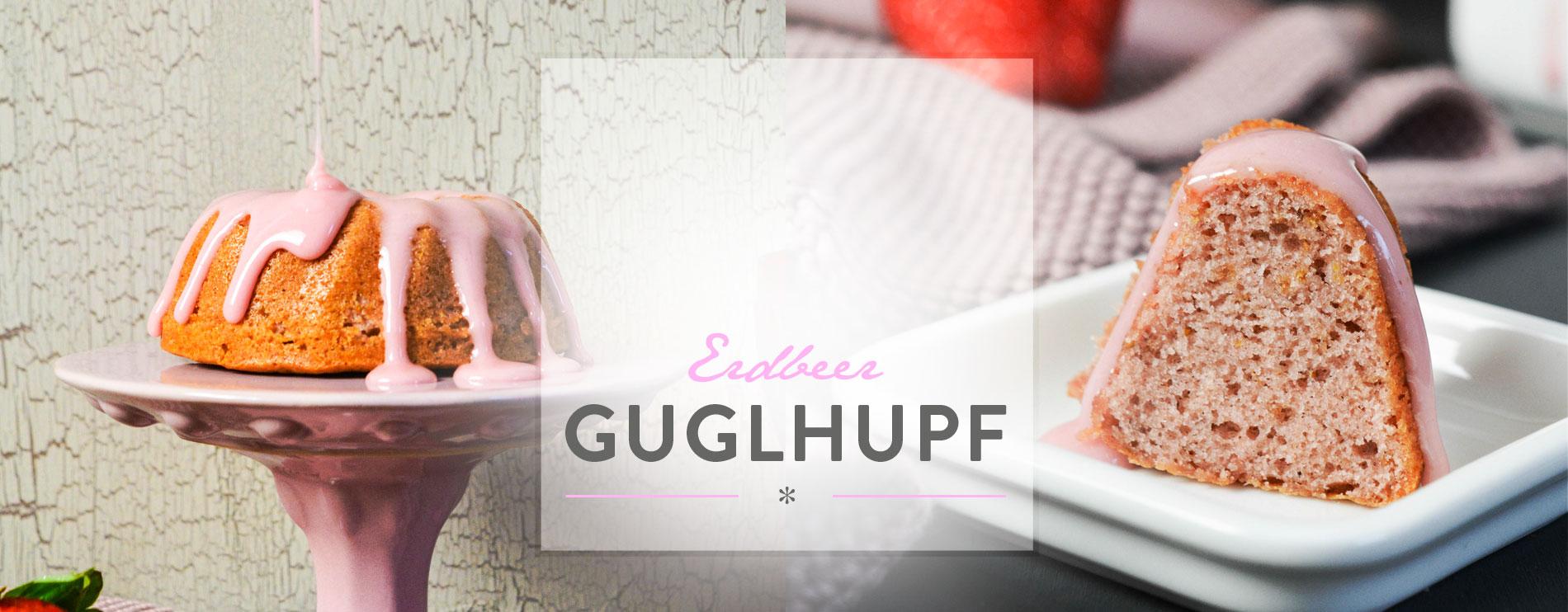 Header Erdbeer Guglhupf