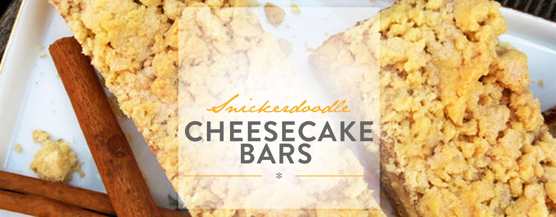 Header Snickerdoodle Cheesecake Bars