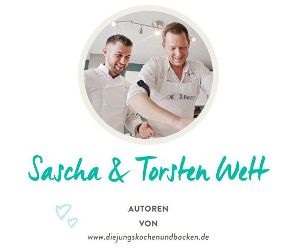 Sascha & Torsten Wett von www.diejungskochenundbacken.de