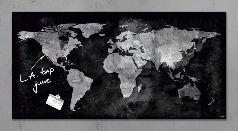 SIGEL Magnetboard Landkarte