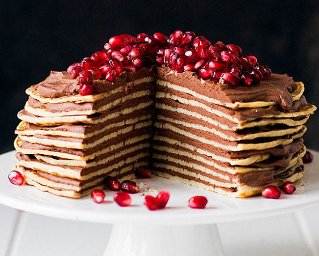 Pfannkuchen-Torte