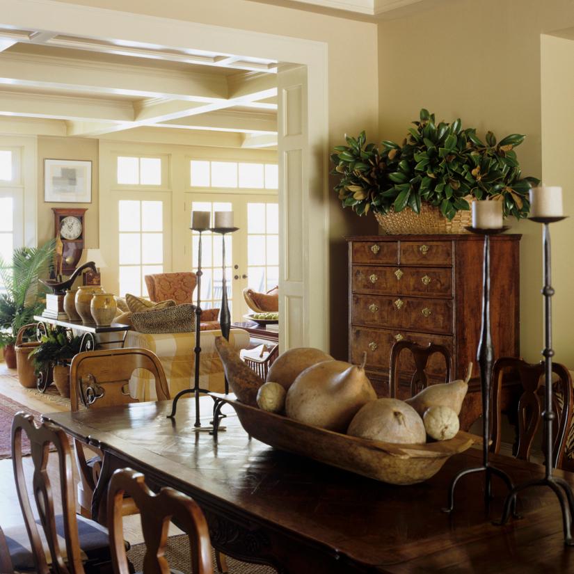 Muebles r sticos todo para una casa con estilo for Cortinas salon rustico