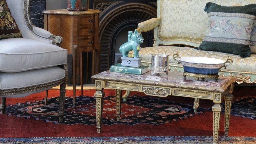 alfombras grandes en el salon