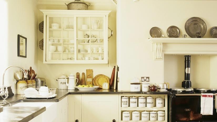cocina rústica vintage