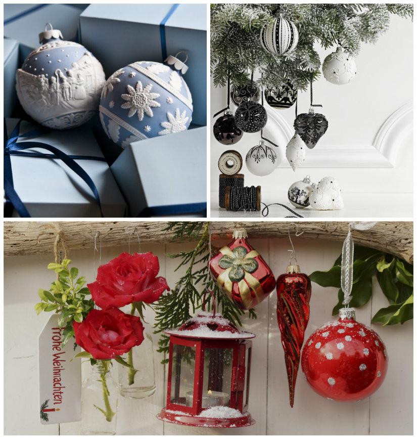 decoración navideña colores