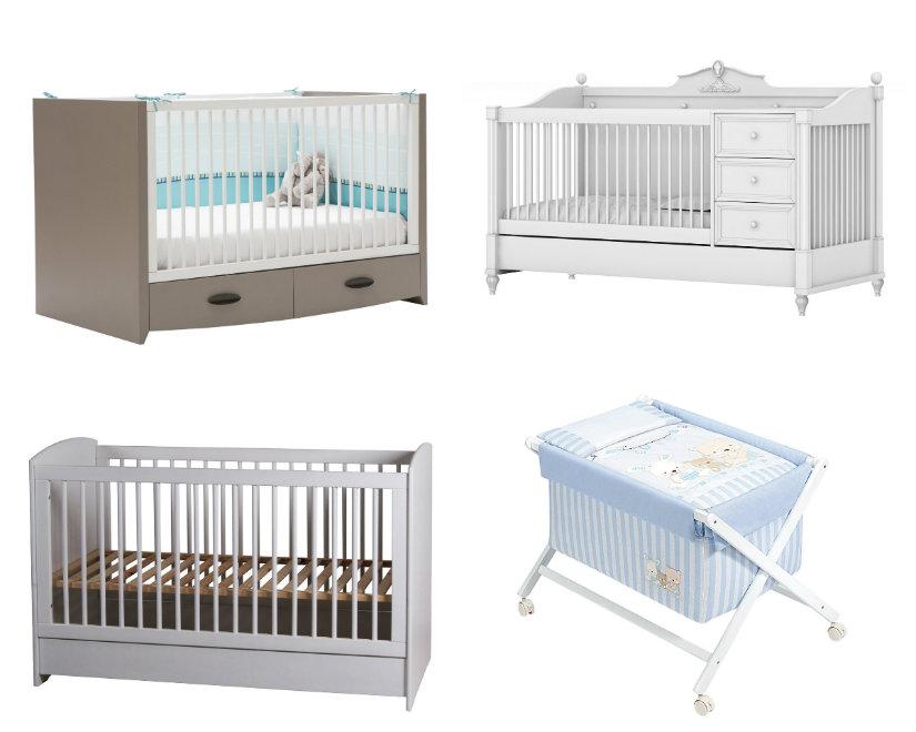 habitaciones para bebés cunas modelos