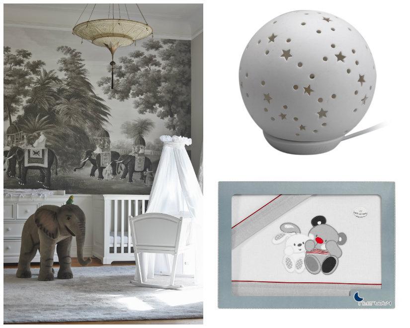 habitaciones para bebés decoración