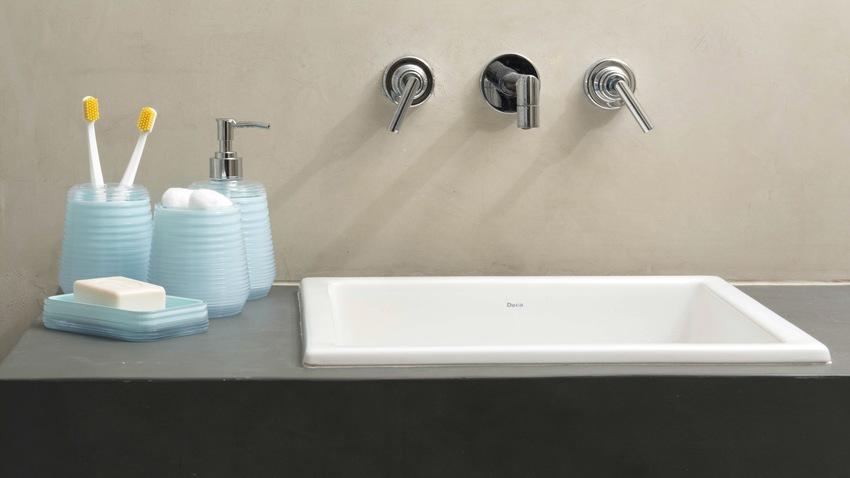 Lavabos soluciones elegantes y sofisticadas en westwing - Lavamanos sobre encimera ...