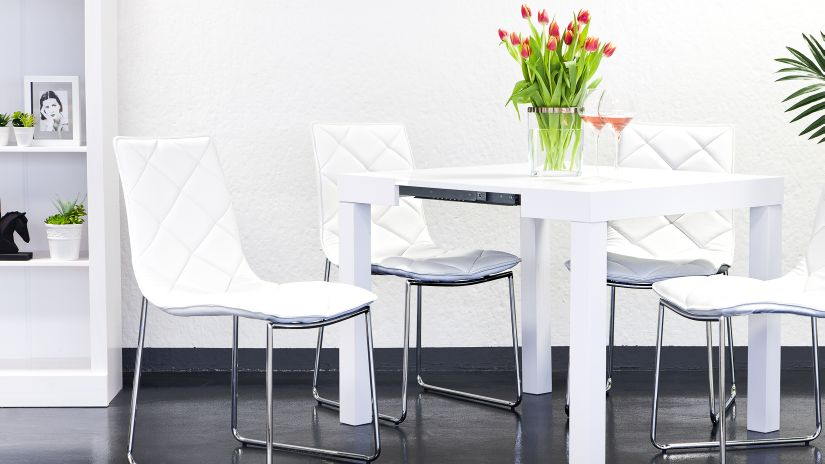 Mesas el centro de tu sal n westwing - Mesas de comedor pequenas y extensibles ...