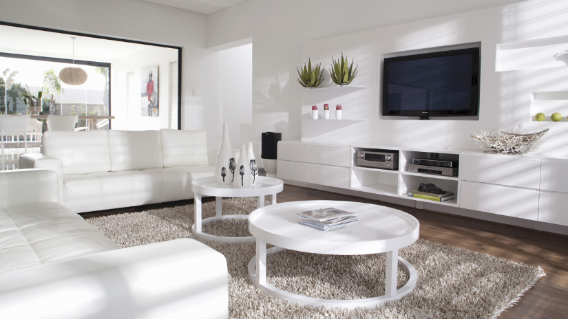 Muebles de tv comodidad y estilo con westwing for Modulos salon blanco