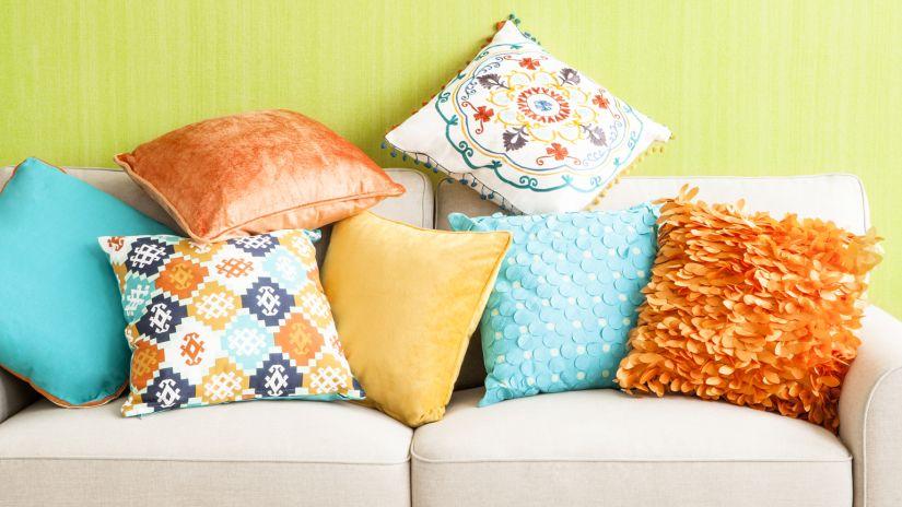 sofá cama con cojines sillones cama