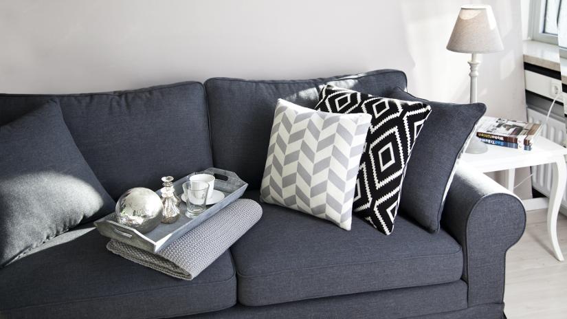 sofá cama gris sillón cama
