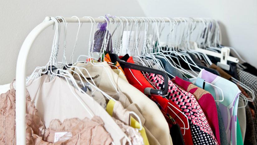vestidores para colgar la ropa