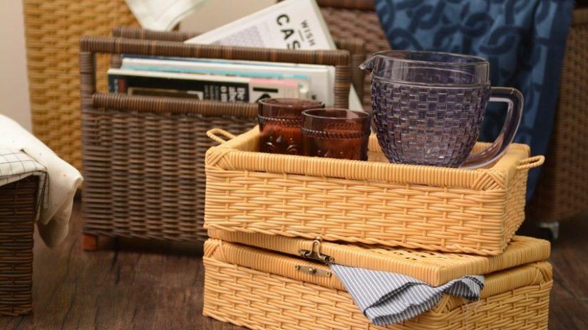 Muebles-de-mimbre-cestas