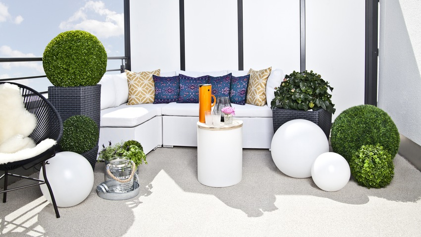 Muebles de balc n elegancia al exterior westwing for Muebles balcon terraza