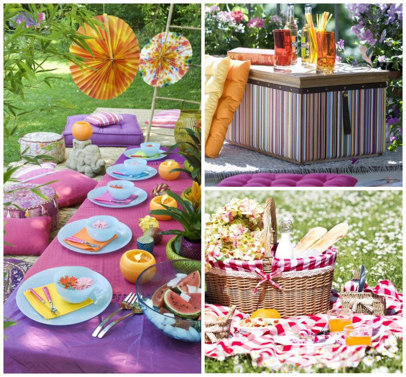 decoración de primavera exterior