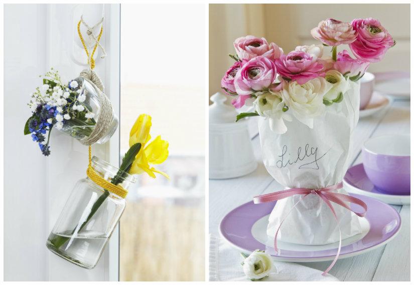 decoración de primavera manualidades