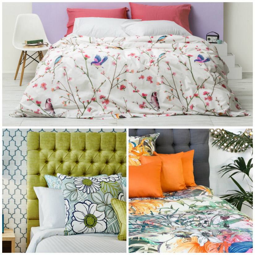 decoración de primavera ropa de cama