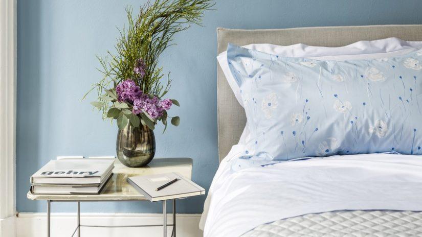 Ideas para el hogar dormitorio azul