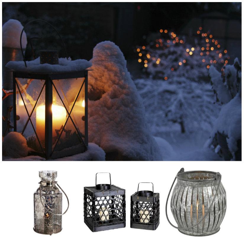 luces de jardín de invierno