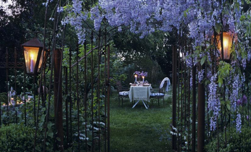 luces de jardín preciosas