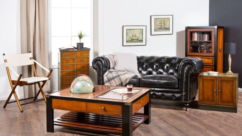 muebles coloniales de madera