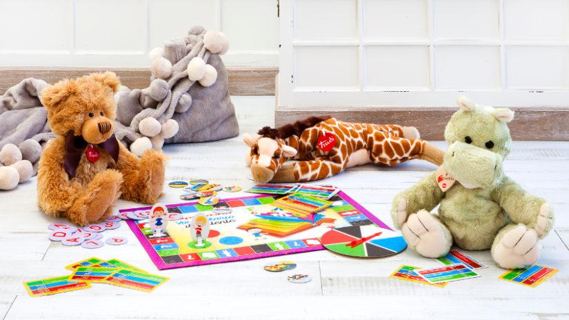 Decoración de habitaciones infantiles peluches